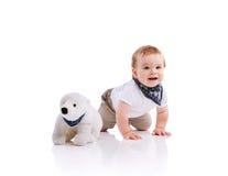 Petit garçon heureux Photo stock