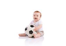 Petit garçon heureux Image stock