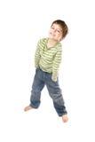 Petit garçon joyeux Photo stock
