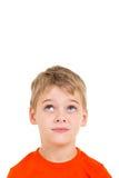 Petit garçon recherchant Photos stock