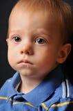 Petit garçon triste Photo libre de droits