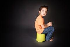 Petit garçon Photos stock