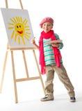 Jeune artiste Photos stock