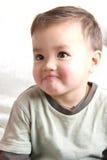 Petit gosse heureux Images stock