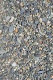 Petit gravier de plage Photo libre de droits