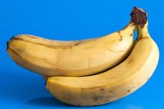 Petit groupe de bananes mûres Photographie stock