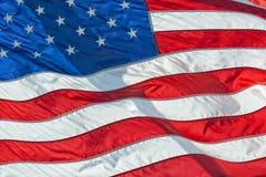 Petit groupe de bannière étoilée de drapeau américain des Etats-Unis Photo stock