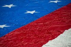 Petit groupe de bannière étoilée de drapeau américain des Etats-Unis Photos libres de droits