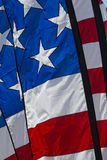 Petit groupe de bannière étoilée de drapeau américain des Etats-Unis Photo libre de droits