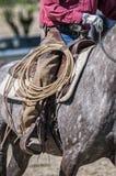 Petit groupe de cowboy images stock