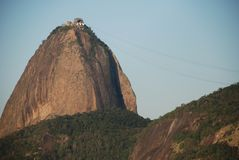 Petit groupe de Sugar Loaf - Rio images stock