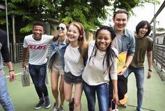 Petit groupe Team Unity Concept d'unité d'amitié de personnes Photos libres de droits