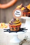 Petit gâteau de Halloween Image libre de droits