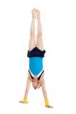 Petit gymnaste Image stock