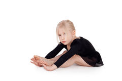Petit gymnaste Photographie stock