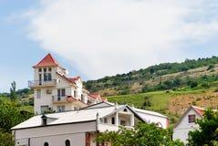 Petit hôtel Photos libres de droits