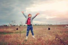 Petit herdboy Photographie stock libre de droits