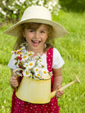 Petit jardinier Image libre de droits