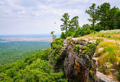 Petit Jean State Park. Overlook cliff Royalty Free Stock Photography
