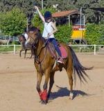 Petit jockey Images stock