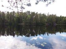 Petit lac Photographie stock libre de droits