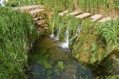 Petit lac Photographie stock