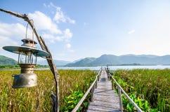 Petit lac en Thaïlande Image libre de droits