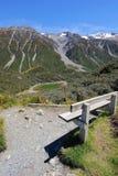 Petit lac près de cuisinier de Mt Photographie stock libre de droits