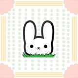 Petit lapin mignon Image libre de droits