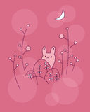 Petit lapin mignon illustration stock