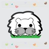 Petit lion mignon Photographie stock