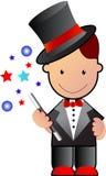 Petit magicien Images libres de droits