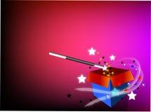 Petit magicien Image stock