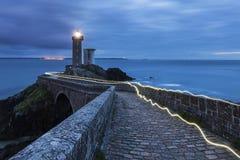 Petit Minou Lighthouse Stock Photography