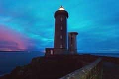 Petit Minou Lighthouse Royalty Free Stock Images