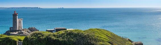 Petit Minou Lighthouse. Plougonvelin, Brittany, France Royalty Free Stock Photo