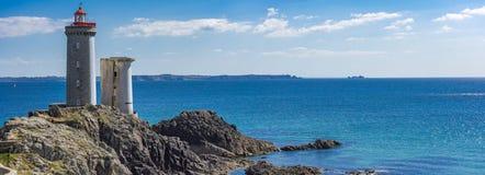 Petit Minou Lighthouse. Plougonvelin, Brittany, France Stock Images