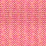 Petit modèle de coeurs aux couleurs pastel, vecteur illustration stock