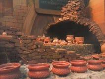 Petit modèle de poterie photographie stock