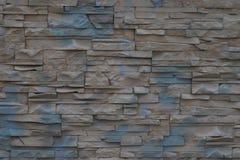 Petit mur en pierre Images libres de droits