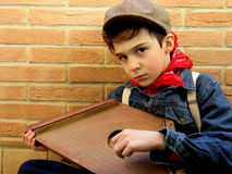 Petit musicien italien Photos stock