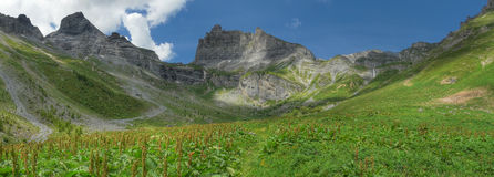 Petit muveran ovronnaz Switzerland Royalty Free Stock Photography