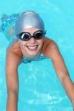Petit nageur Photographie stock libre de droits