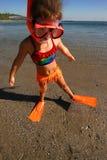 Petit nageur Image libre de droits