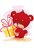 Petit ours Image stock