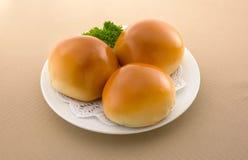 Petit pain asiatique de DimSum de nourriture images libres de droits