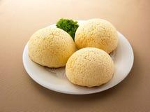 Petit pain asiatique de DimSum de nourriture photographie stock