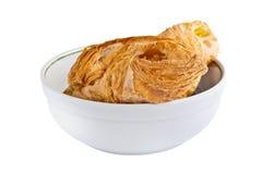 Petit pain avec la confiture Images stock