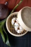 Petit pain chinois de porc Image libre de droits