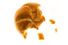 Petit pain déchiré Photo libre de droits